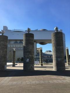 音楽ホールやプラネタリウムも併設されている「日立シビックセンター」